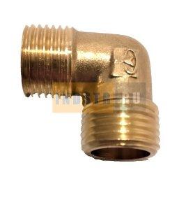 Уголок 1/2M-1/2M для компрессора