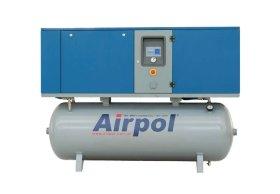 Винтовой компрессор Airpol K 11 T 13/15 бар