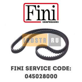 Приводной ремень FINI 045028000