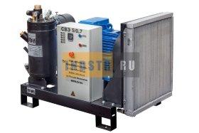 Станция компрессорная электрическая ЗИФ-СВЭ-6,3/0,7 без кожуха