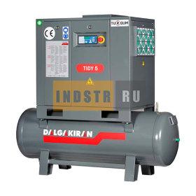 Винтовой компрессор DALGAKIRAN Tidy 5 - 200 л (10 бар)