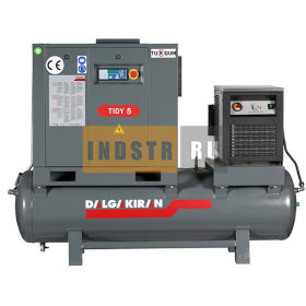 Винтовой компрессор DALGAKIRAN Tidy 5 Compact - 250 л (7.5 бар)