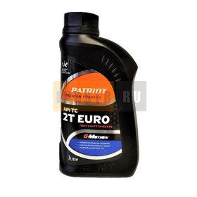 Масло 2х-тактное полусинтетическое PATRIOT G-Motion 2Т EURO - 1 л