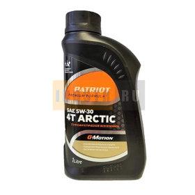 Масло 4х-тактное полусинтетическое PATRIOT G-Motion 4T ARCTIC SAE 5w30  - 1 л