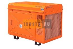 Станция компрессорная электрическая ЗИФ-СВЭ-3,5/1,0 в кожухе
