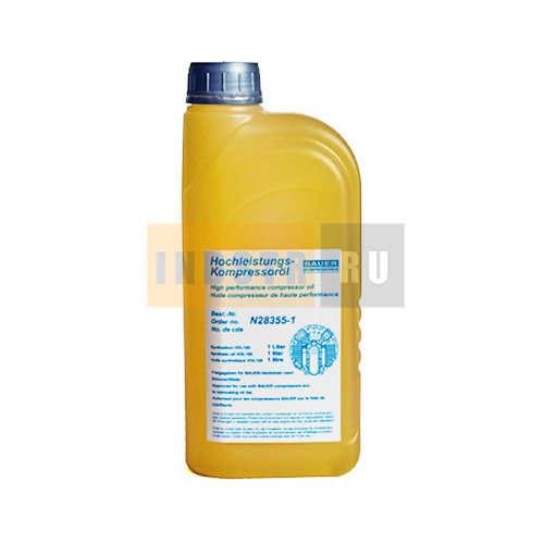 Масло синтетическое для поршневых компрессоров BAUER N28355