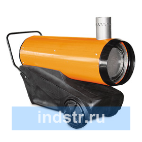 Калорифер дизельный ДК-21Н-Р апельсин с пластиковым баком