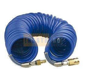 Шланг спиральный PGS ПРОФИ (Быстросъем) 8x12 мм (20 бар) - 20 м