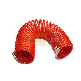 Шланг GAV спиральный SRU (Быстросъем) 8x10 мм (20 бар) - 15 м